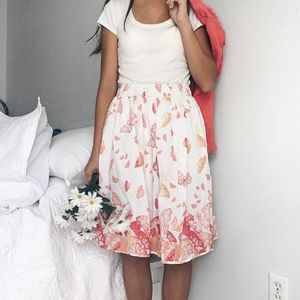 Girls Candies Brand Butterfly Full Skirt
